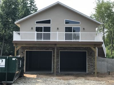 Photo for Green Lake View - BRAND NEW** 3 Bedroom, 2 Bath w/deck overlooking Green Lake