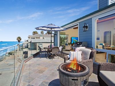 Photo for Remodeled Beautiful Oceanfront Duplex, Designer Decorated & A/C Equipped