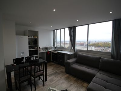 Photo for BRIGHT APARTMENT WITH SUPERB VIEW