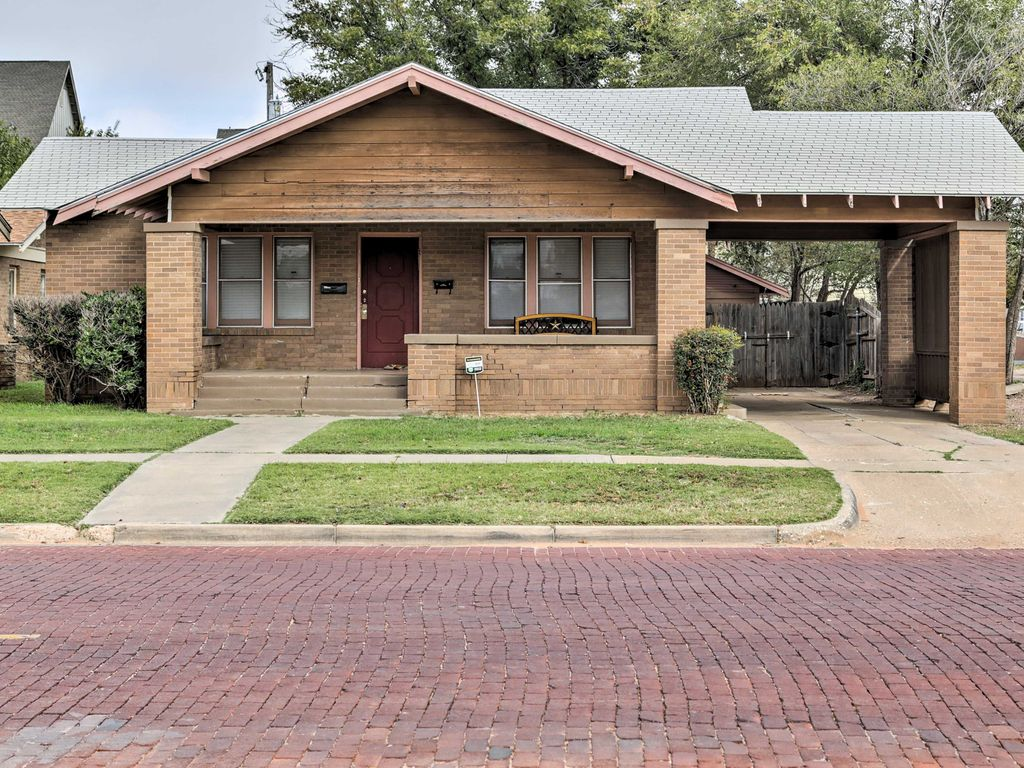 4br Lubbock House Near Texas Tech Downtow Homeaway