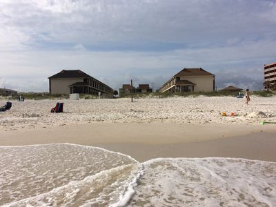 Photo for Beachfront Townhome #28- Just Steps From The Gulf! Convenient & Family Friendly!