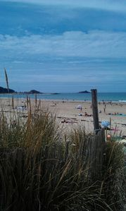 Photo for Brittany, Golden sands les pins, apartment at 50m from the beach