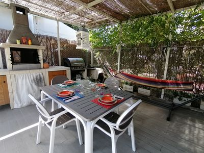 Photo for IL NIDO DI TONFANO very close to the beach, private parking garden, bicycles, freeWiFi