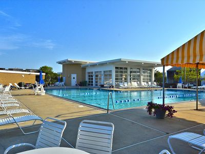 Photo for DAILY Activities. LINENS INCLUDED*!  NORTH SHORES/COMMUNITY POOL/2 BLOCKS TO OCEAN -
