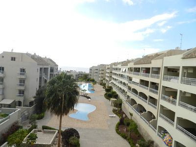 Photo for 2 bed 3 bath Duplex Penthouse with sea & pool views. Free WIFI