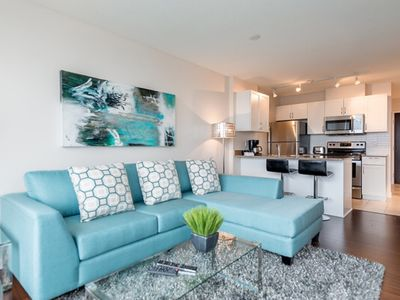 Photo for Trendy Downtown Condo - Jr 2 Bedroom and Parking (E1)