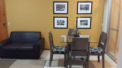 Photo for Beautiful apartment 2 Bedrooms, garage, elevator, in front of the Águas Claras park