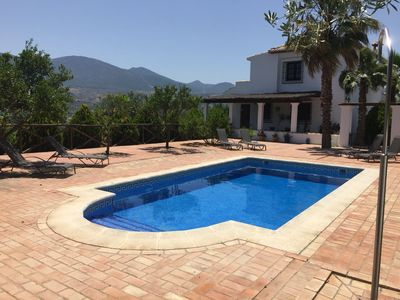 Photo for Stunning Rural Villa in the Lecrin Valley with family size private pool