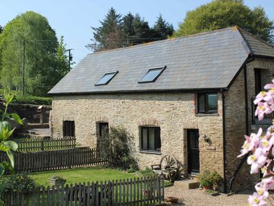 Photo for Charming cottage on beautiful working farm, quiet, spacious with stunning view