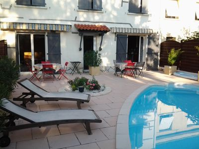 Photo for house with swimming pool to 10 minutes from the center
