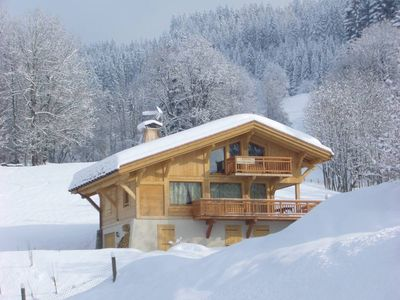 Photo for Megeve Demi Quartier: Brand new chalet, easy access to ski slopes