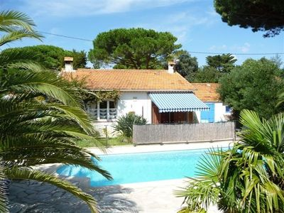 Photo for Villa La Rescapade 6/7 people with pool, 150m from BEACH, gate with access code
