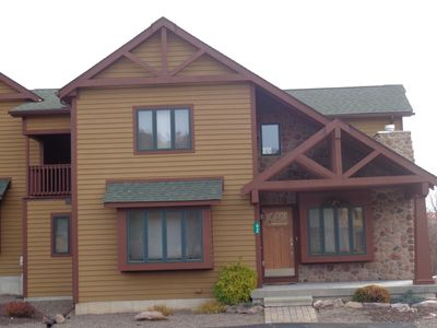 Photo for Duplex With Lake Views, Game Room, WiFi!  Laurelwoods At Big Boulder