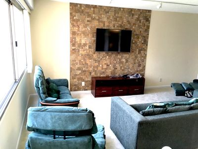 Photo for NEWLY renovated spacious fully furnished condo+parking