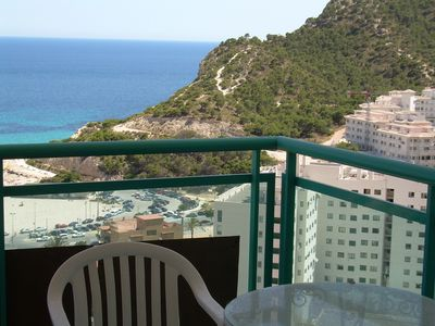 Photo for Apartment, with sea and mountain views, flat area, WIFI