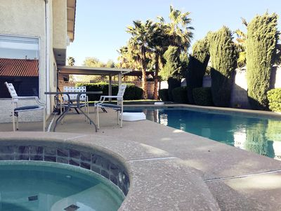 Photo for 31 min. Beautiful Home With Pool & Jacuzzi close to the Strip