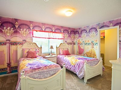 Photo for Windsor Hills Disney 6bd 4ba w/Princess Room, Pool, Spa,Game Room