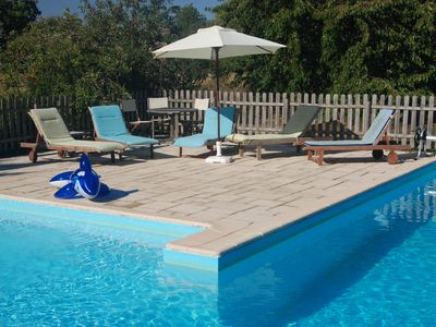 Photo for High Quality, Family Friendly Gite, with Heated Swimming Pool