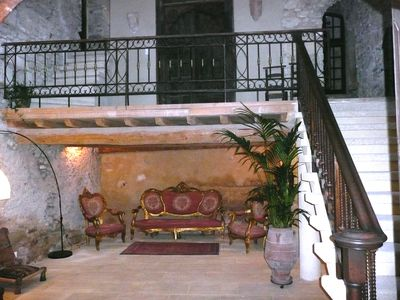 Photo for Near Avignon, Nimes, Uzes.Spacious house with character, terraces & panoramic view
