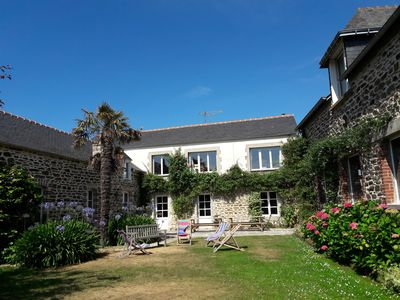 Photo for 18persons, 200m. sea, Dinard 5 km, TampéRance, cottage of charm