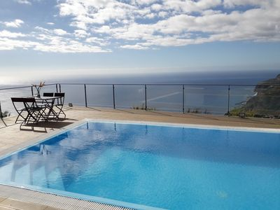 Photo for NEW!!! Beautiful View of the Valley in Arco da Calheta - Excellent view to the sea.
