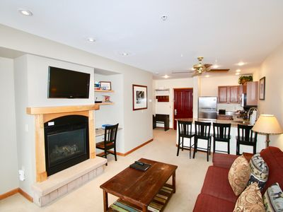 Photo for New Listing Ski-In/Ski-Out Zephyr 1 Bedroom Condo at the base of Winter Park