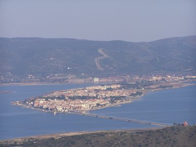 Photo for ORBETELLO DOWNTOWN APARTMENT OF 1600 2/5 PEOPLE VIEW LAGUNA