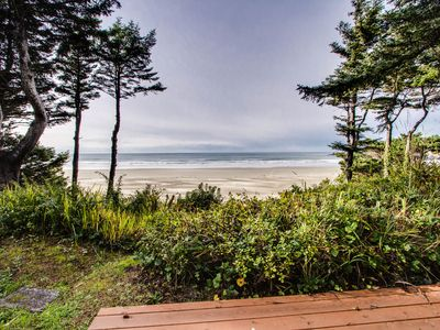Photo for Spectacular views from this roomy oceanfront home w/ shared hot tub!