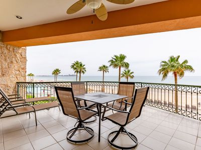 Photo for Sonoran Sea West 202 - 2 Bedroom Upper Floor Ocean Front