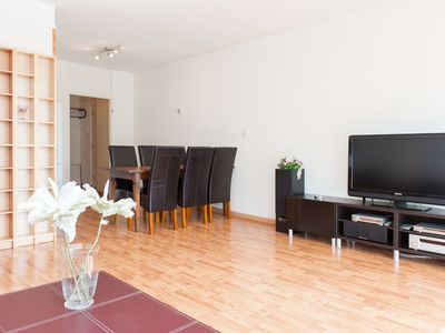 Photo for Comfortable two bedroom apartment, for up to four people, peacefully located in Amsterdam North.