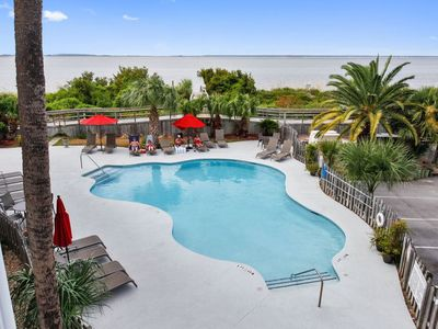 Photo for Beachfront Ocean/River View, Wifi And Pool