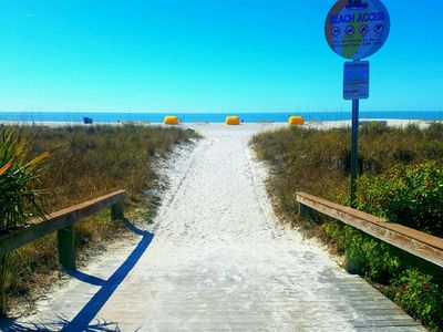 Photo for NEWLY RENOVATED: BEACH FRONT CONDO ON BEAUTIFUL ST.PETE BEACH, POOL, VOLLEYBALL!