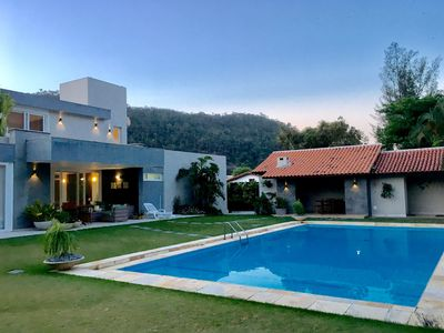 Photo for Beautiful house in Itacoatiara Beach 50 meters from the beach