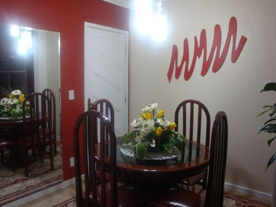 Photo for Ap. Excellent location, WiFi, Air, Garage, elevator, 2 Smart TVs, equipped.