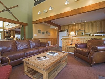 Photo for Three Kings Condo - Ski In/Out Park City Mountain - Condo sits on Golf Course