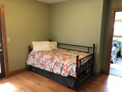 Photo for Cute 3+ bedroom/2 full bath house just 6 miles from Road America!