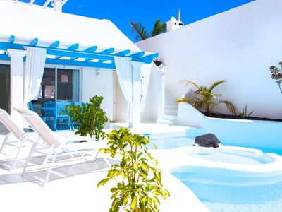 Photo for Villa Penelope with private pool , jacuzzi and excellent sun orientation