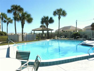 Pool or beach? You have so many choices at Island South! - Enjoy lounging in the sun by the pool or cool off with friends in the pool. Florida sunshine is great no matter how you get it.