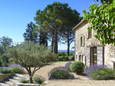 Photo for 18th century restored stone house in a large mature garden with 360 degree views