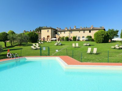 Photo for 4 bedroom Apartment, sleeps 8 in Luiano with Pool, Air Con and WiFi