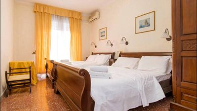 Photo for FLAT IN ROME. VERY COMFORTABLE KING SIZE BEDS. FREE WIFI