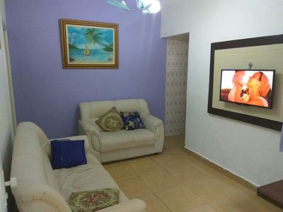 Photo for WHATS (11) ZAP (98821-3322) large tupi beach house with wifi