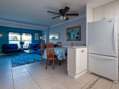 Photo for WATERFRONT  PRIVATE DOCK, LONGBOAT KEY FLORIDA 1000 FEET TO THE BEACH