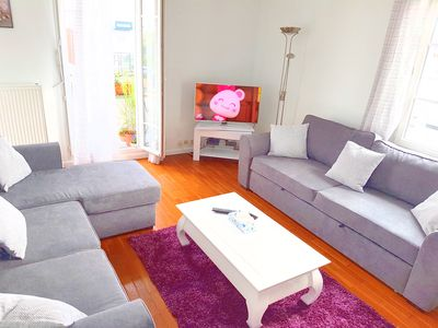 Photo for Smart apartment Val d'Europe 7/9 people