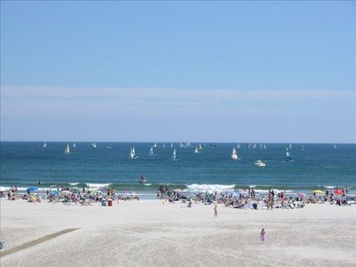 Photo for Monterey, Wildwood Crest, Oceanview condo right on the beach, New Kitchen/Bath