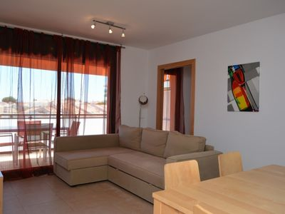 Photo for Apartment in Altafulla Beach with communal pool and gardens