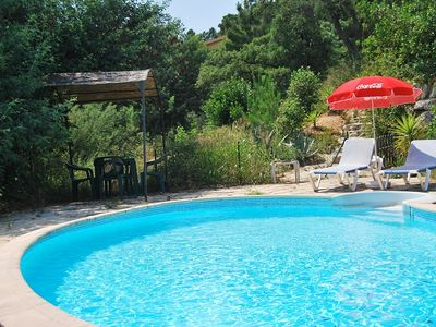 Photo for Joint house with pool & garden, views on the sea and the forest - Costa Brava