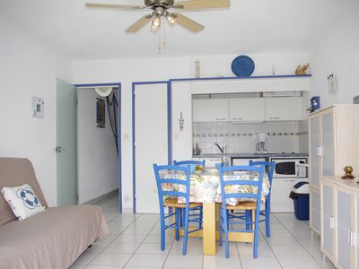 Photo for Central apartment 150 m from the beach with balcony and parking