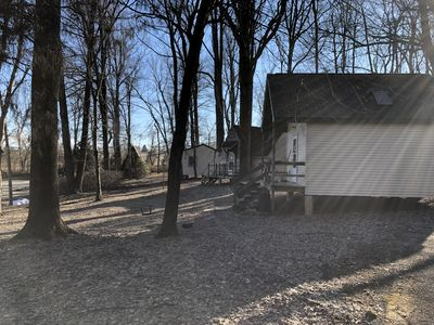 This listing is for ALL THREE family cabins at Mill Creek Falls Retreat Center