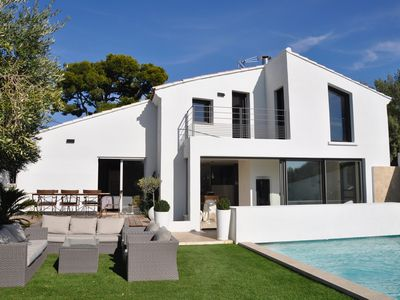 Photo for Sanary sur Mer Villa entirely renovated with swimming pool, any comfort 170 m2